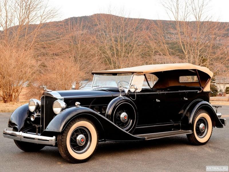 Постер Packard Eight 7-Passenger Touring (1101) 1934, 27x20 см, на бумагеPackard<br>Постер на холсте или бумаге. Любого нужного вам размера. В раме или без. Подвес в комплекте. Трехслойная надежная упаковка. Доставим в любую точку России. Вам осталось только повесить картину на стену!<br>