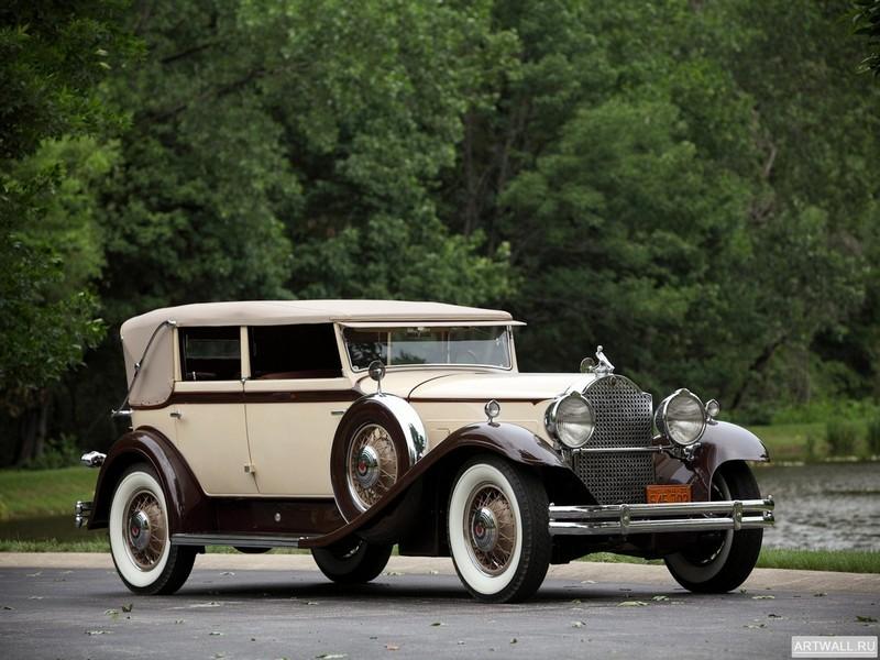 Постер Packard Eight Individual Custom Convertible Sedan by Dietrich (840) 1931, 27x20 см, на бумагеPackard<br>Постер на холсте или бумаге. Любого нужного вам размера. В раме или без. Подвес в комплекте. Трехслойная надежная упаковка. Доставим в любую точку России. Вам осталось только повесить картину на стену!<br>