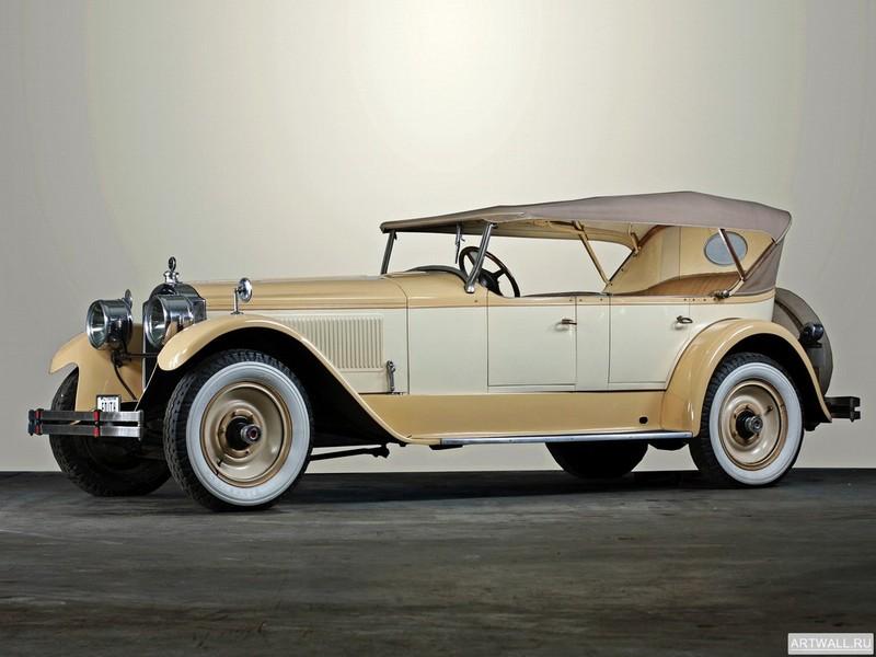 Постер Packard Single Eight Touring (136) 1924, 27x20 см, на бумагеPackard<br>Постер на холсте или бумаге. Любого нужного вам размера. В раме или без. Подвес в комплекте. Трехслойная надежная упаковка. Доставим в любую точку России. Вам осталось только повесить картину на стену!<br>