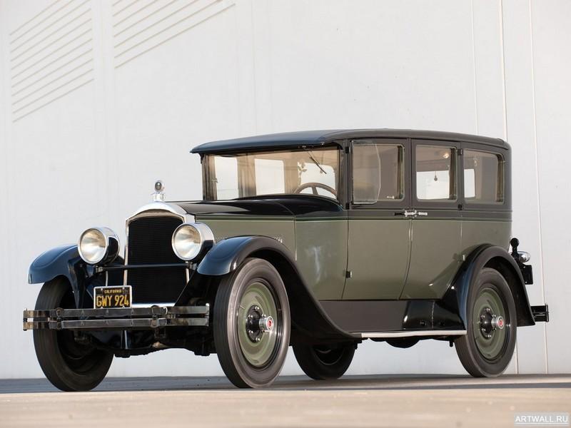 Постер Packard Six 5-passenger Sedan 1927, 27x20 см, на бумагеPackard<br>Постер на холсте или бумаге. Любого нужного вам размера. В раме или без. Подвес в комплекте. Трехслойная надежная упаковка. Доставим в любую точку России. Вам осталось только повесить картину на стену!<br>