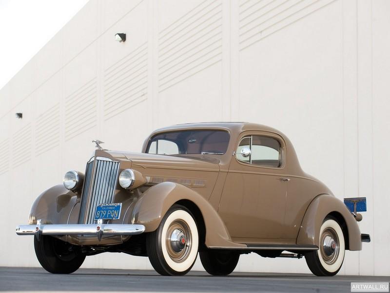 Постер Packard Six Coupe 1937, 27x20 см, на бумагеPackard<br>Постер на холсте или бумаге. Любого нужного вам размера. В раме или без. Подвес в комплекте. Трехслойная надежная упаковка. Доставим в любую точку России. Вам осталось только повесить картину на стену!<br>