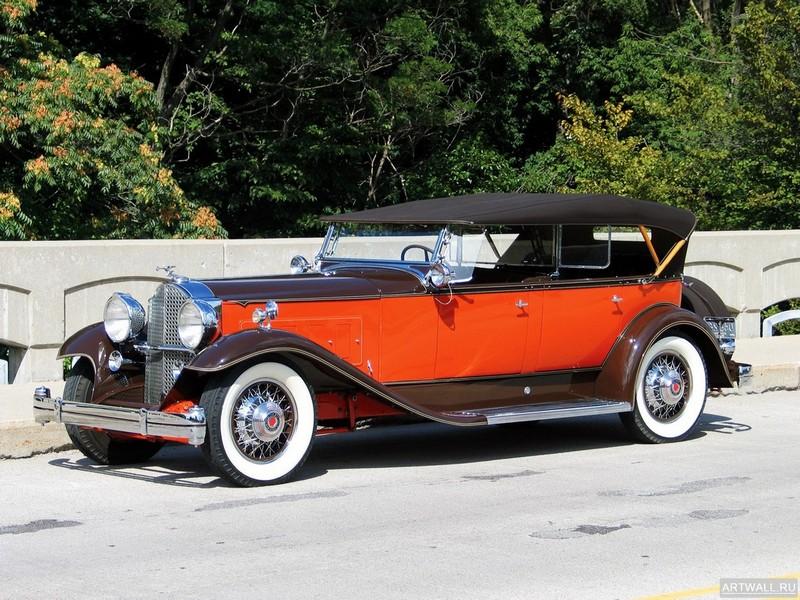 Постер Packard Super Eight Sport Phaeton by Dietrich (1004) 1933, 27x20 см, на бумагеPackard<br>Постер на холсте или бумаге. Любого нужного вам размера. В раме или без. Подвес в комплекте. Трехслойная надежная упаковка. Доставим в любую точку России. Вам осталось только повесить картину на стену!<br>