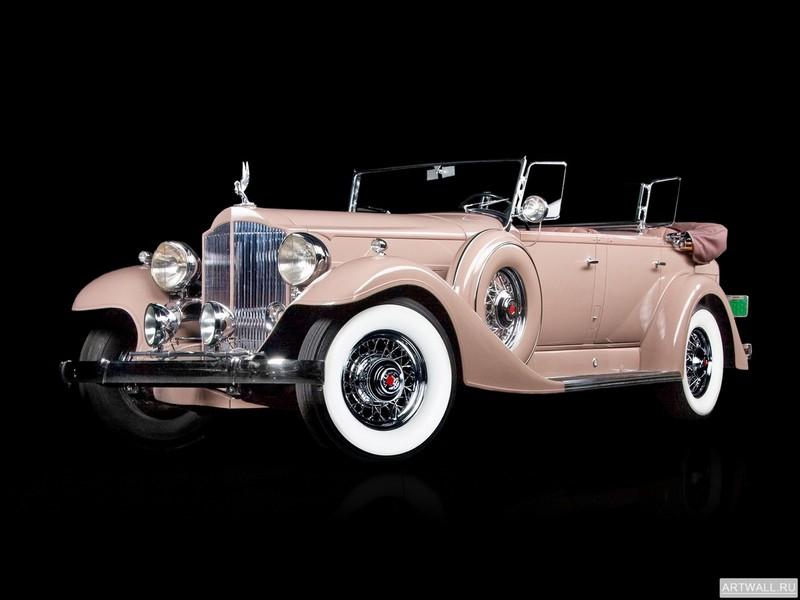 Постер Packard Super Eight Transformable Town Car by Franay 1939, 27x20 см, на бумагеPackard<br>Постер на холсте или бумаге. Любого нужного вам размера. В раме или без. Подвес в комплекте. Трехслойная надежная упаковка. Доставим в любую точку России. Вам осталось только повесить картину на стену!<br>