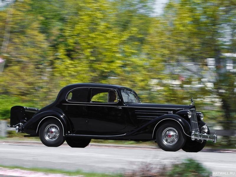 Постер Packard Twelve 5-passenger Coupe (1407) 1936, 27x20 см, на бумагеPackard<br>Постер на холсте или бумаге. Любого нужного вам размера. В раме или без. Подвес в комплекте. Трехслойная надежная упаковка. Доставим в любую точку России. Вам осталось только повесить картину на стену!<br>