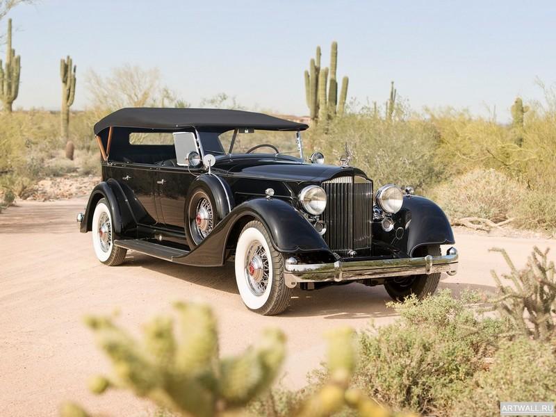 Постер Packard Twelve 7-passenger Touring (1107) 1934, 27x20 см, на бумагеPackard<br>Постер на холсте или бумаге. Любого нужного вам размера. В раме или без. Подвес в комплекте. Трехслойная надежная упаковка. Доставим в любую точку России. Вам осталось только повесить картину на стену!<br>