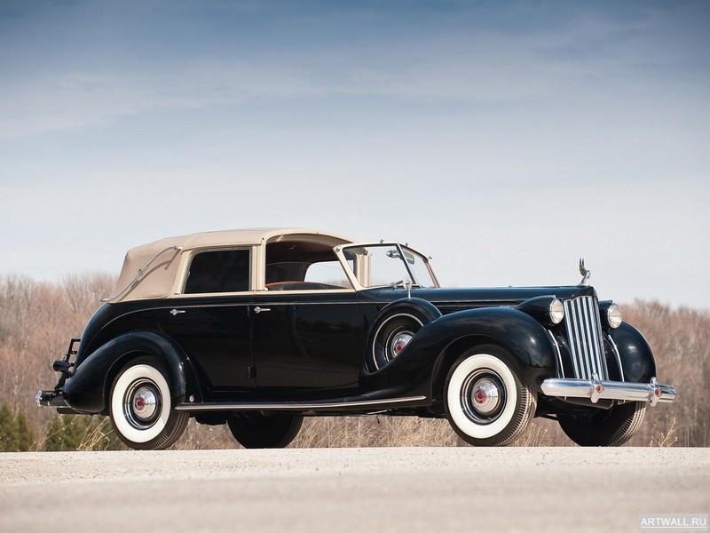 Постер Packard Twelve All-Weather Cabriolet by Brunn (4087) 1939, 27x20 см, на бумагеPackard<br>Постер на холсте или бумаге. Любого нужного вам размера. В раме или без. Подвес в комплекте. Трехслойная надежная упаковка. Доставим в любую точку России. Вам осталось только повесить картину на стену!<br>