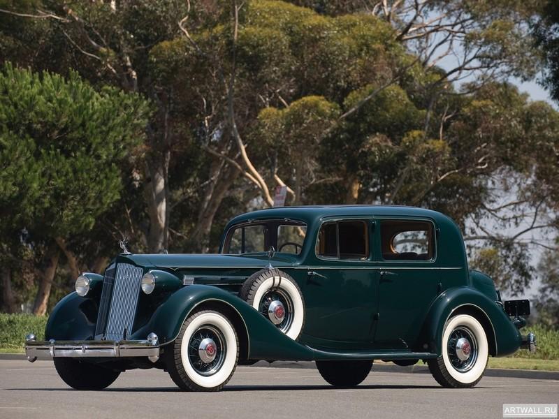 Постер Packard Twelve Club Sedan 1936, 27x20 см, на бумагеPackard<br>Постер на холсте или бумаге. Любого нужного вам размера. В раме или без. Подвес в комплекте. Трехслойная надежная упаковка. Доставим в любую точку России. Вам осталось только повесить картину на стену!<br>