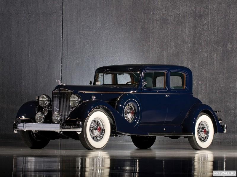 Постер Packard Twelve Coupe 1934, 27x20 см, на бумагеPackard<br>Постер на холсте или бумаге. Любого нужного вам размера. В раме или без. Подвес в комплекте. Трехслойная надежная упаковка. Доставим в любую точку России. Вам осталось только повесить картину на стену!<br>