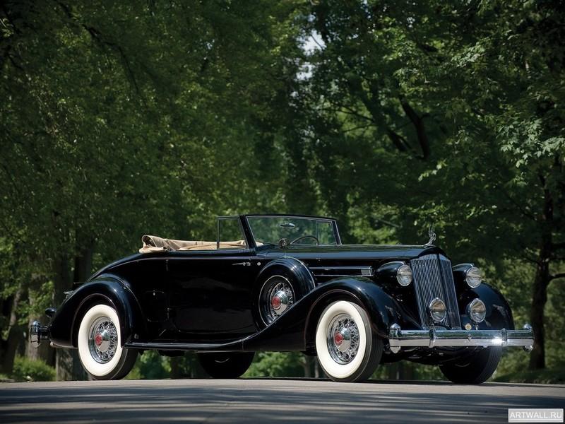 Постер Packard Twelve Coupe Roadster 1936, 27x20 см, на бумагеPackard<br>Постер на холсте или бумаге. Любого нужного вам размера. В раме или без. Подвес в комплекте. Трехслойная надежная упаковка. Доставим в любую точку России. Вам осталось только повесить картину на стену!<br>