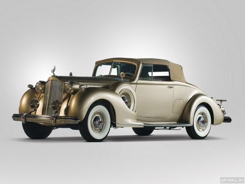 Постер Packard Twelve Coupe Roadster 1938, 27x20 см, на бумагеPackard<br>Постер на холсте или бумаге. Любого нужного вам размера. В раме или без. Подвес в комплекте. Трехслойная надежная упаковка. Доставим в любую точку России. Вам осталось только повесить картину на стену!<br>