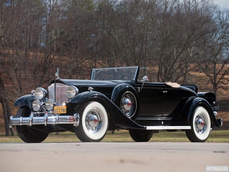 Постер Packard Twelve Coupe Roadster (1005) 1933, 27x20 см, на бумагеPackard<br>Постер на холсте или бумаге. Любого нужного вам размера. В раме или без. Подвес в комплекте. Трехслойная надежная упаковка. Доставим в любую точку России. Вам осталось только повесить картину на стену!<br>