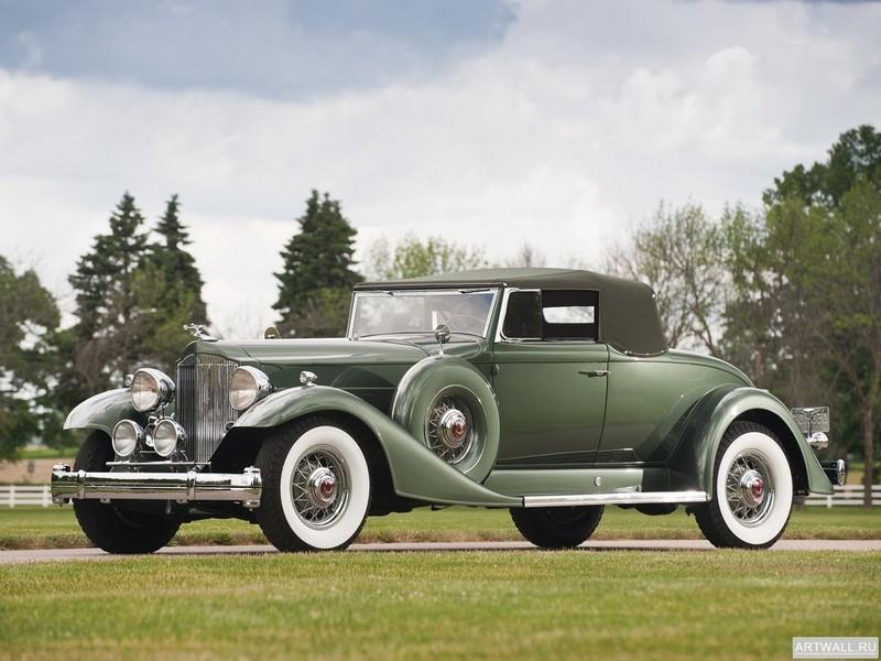 Постер Packard Twelve Coupe Roadster (1005-639) 1933, 27x20 см, на бумагеPackard<br>Постер на холсте или бумаге. Любого нужного вам размера. В раме или без. Подвес в комплекте. Трехслойная надежная упаковка. Доставим в любую точку России. Вам осталось только повесить картину на стену!<br>
