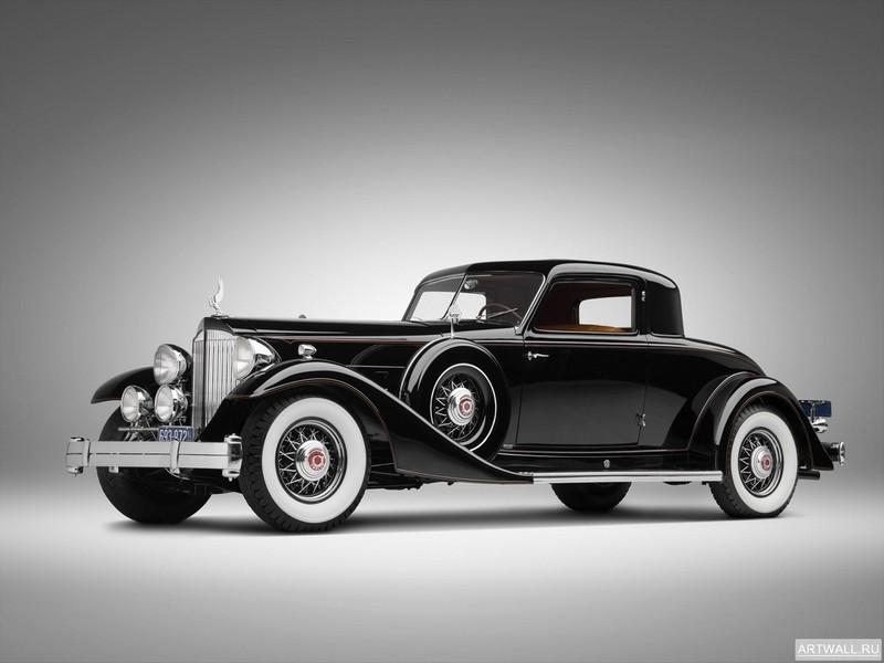 Постер Packard Twelve Custom Coupe by Dietrich (1007) 1933, 27x20 см, на бумагеPackard<br>Постер на холсте или бумаге. Любого нужного вам размера. В раме или без. Подвес в комплекте. Трехслойная надежная упаковка. Доставим в любую точку России. Вам осталось только повесить картину на стену!<br>