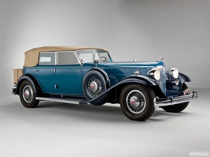 Постер Packard Twelve Individual Custom Convertible Sedan by Dietrich (906) 1932, 27x20 см, на бумагеPackard<br>Постер на холсте или бумаге. Любого нужного вам размера. В раме или без. Подвес в комплекте. Трехслойная надежная упаковка. Доставим в любую точку России. Вам осталось только повесить картину на стену!<br>