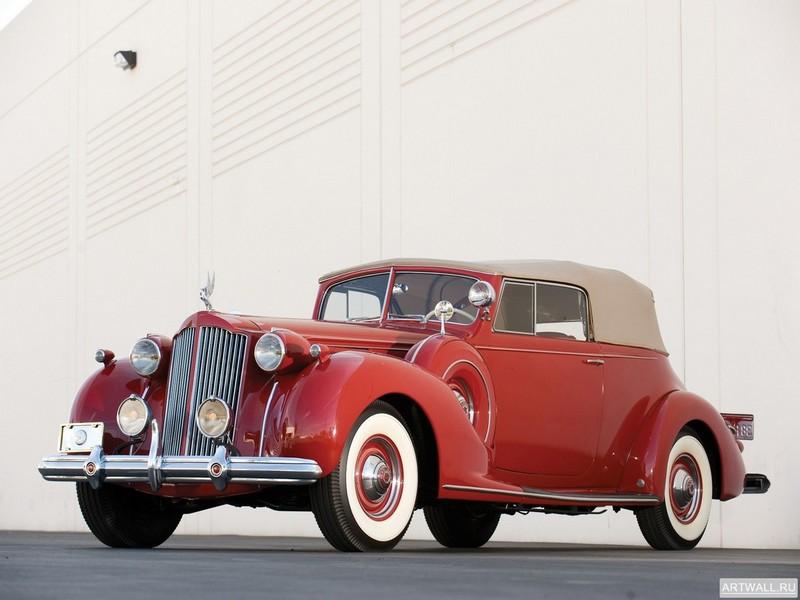 Packard Twelve Victoria Convertible 1938, 27x20 см, на бумагеPackard<br>Постер на холсте или бумаге. Любого нужного вам размера. В раме или без. Подвес в комплекте. Трехслойная надежная упаковка. Доставим в любую точку России. Вам осталось только повесить картину на стену!<br>