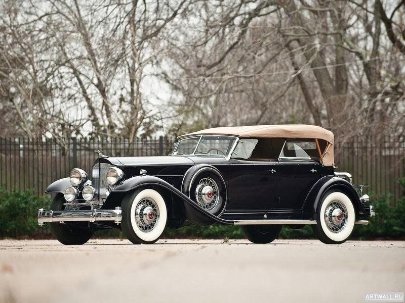 Постер Packard Twin Six Sport Phaeton by Dietrich 1932, 27x20 см, на бумагеPackard<br>Постер на холсте или бумаге. Любого нужного вам размера. В раме или без. Подвес в комплекте. Трехслойная надежная упаковка. Доставим в любую точку России. Вам осталось только повесить картину на стену!<br>
