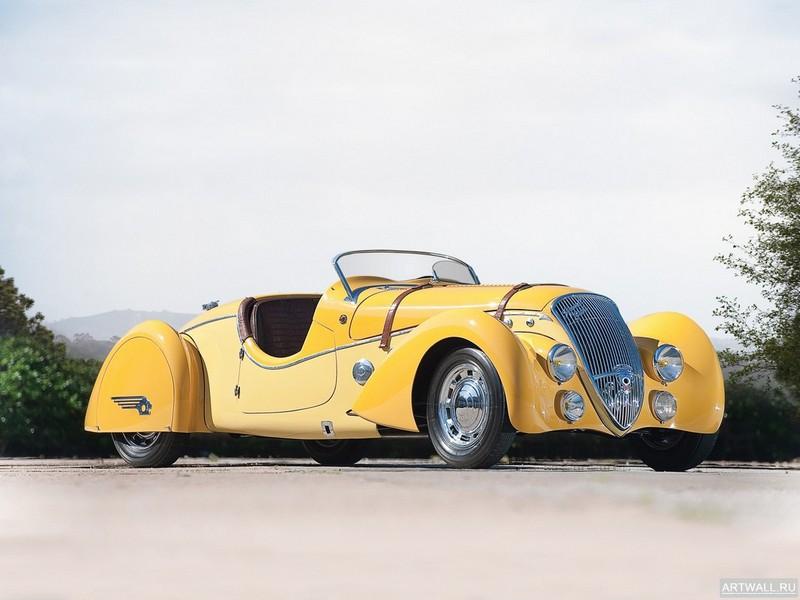 Постер Peugeot 402 Darlmat Pourtout Roadster 1938, 27x20 см, на бумагеPeugeot<br>Постер на холсте или бумаге. Любого нужного вам размера. В раме или без. Подвес в комплекте. Трехслойная надежная упаковка. Доставим в любую точку России. Вам осталось только повесить картину на стену!<br>