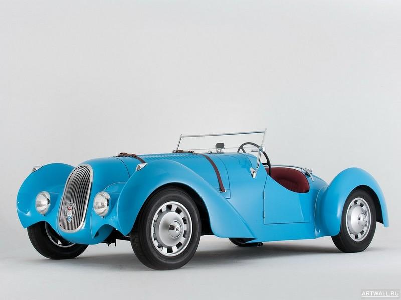 Peugeot 402 Special Pourtout Roadster 1938, 27x20 см, на бумагеPeugeot<br>Постер на холсте или бумаге. Любого нужного вам размера. В раме или без. Подвес в комплекте. Трехслойная надежная упаковка. Доставим в любую точку России. Вам осталось только повесить картину на стену!<br>