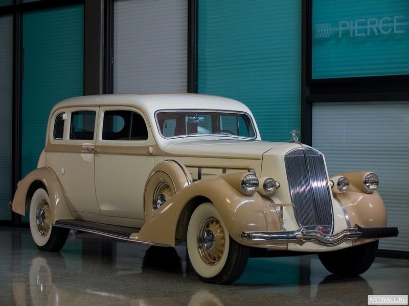 Постер Pierce-Arrow Deluxe 8 Touring Sedan 1936, 27x20 см, на бумагеPierce-Arrow<br>Постер на холсте или бумаге. Любого нужного вам размера. В раме или без. Подвес в комплекте. Трехслойная надежная упаковка. Доставим в любую точку России. Вам осталось только повесить картину на стену!<br>