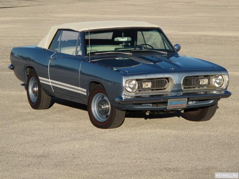 Постер Plymouth Barracuda Convertible 1967, 27x20 см, на бумагеPlymouth<br>Постер на холсте или бумаге. Любого нужного вам размера. В раме или без. Подвес в комплекте. Трехслойная надежная упаковка. Доставим в любую точку России. Вам осталось только повесить картину на стену!<br>
