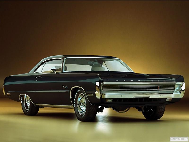 Постер Plymouth Sport Fury GT 1970, 27x20 см, на бумагеPlymouth<br>Постер на холсте или бумаге. Любого нужного вам размера. В раме или без. Подвес в комплекте. Трехслойная надежная упаковка. Доставим в любую точку России. Вам осталось только повесить картину на стену!<br>