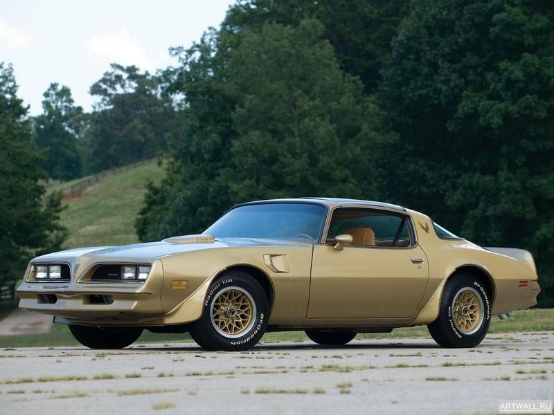Постер Pontiac Firebird Trans Am Y-88 Gold Special Edition 1978, 27x20 см, на бумагеPontiac<br>Постер на холсте или бумаге. Любого нужного вам размера. В раме или без. Подвес в комплекте. Трехслойная надежная упаковка. Доставим в любую точку России. Вам осталось только повесить картину на стену!<br>