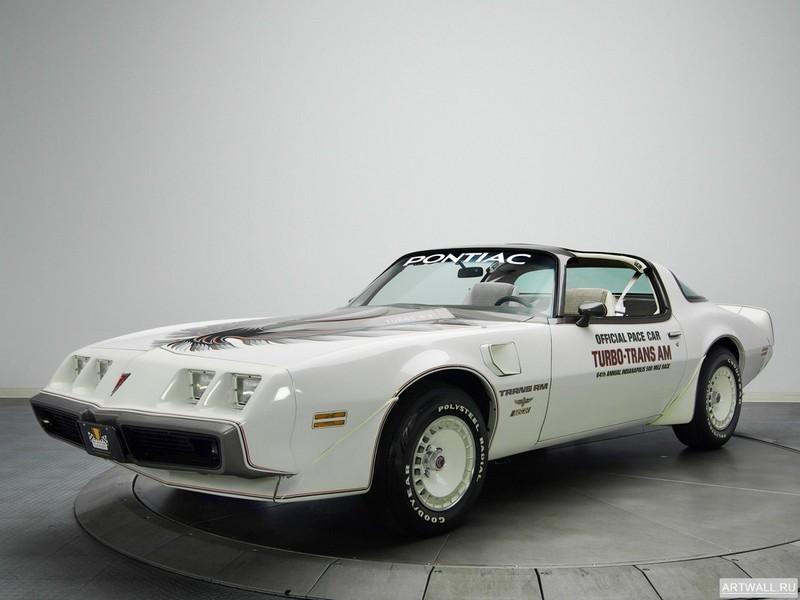 Pontiac Firebird Turbo Trans Am Indy 500 Pace Car 1980, 27x20 см, на бумагеPontiac<br>Постер на холсте или бумаге. Любого нужного вам размера. В раме или без. Подвес в комплекте. Трехслойная надежная упаковка. Доставим в любую точку России. Вам осталось только повесить картину на стену!<br>