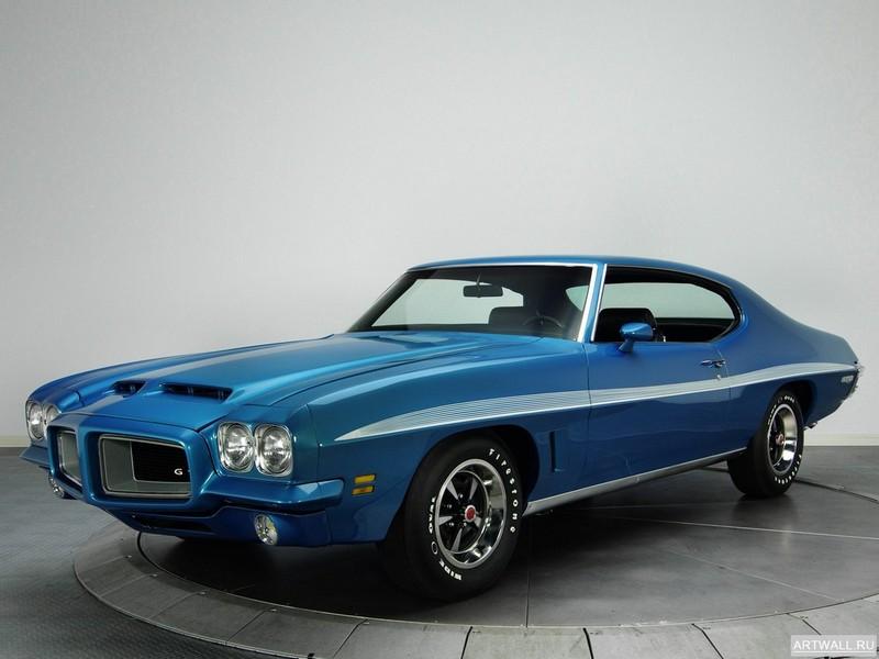 Постер Pontiac LeMans GTO Hardtop Coupe (D37) 1972, 27x20 см, на бумагеPontiac<br>Постер на холсте или бумаге. Любого нужного вам размера. В раме или без. Подвес в комплекте. Трехслойная надежная упаковка. Доставим в любую точку России. Вам осталось только повесить картину на стену!<br>
