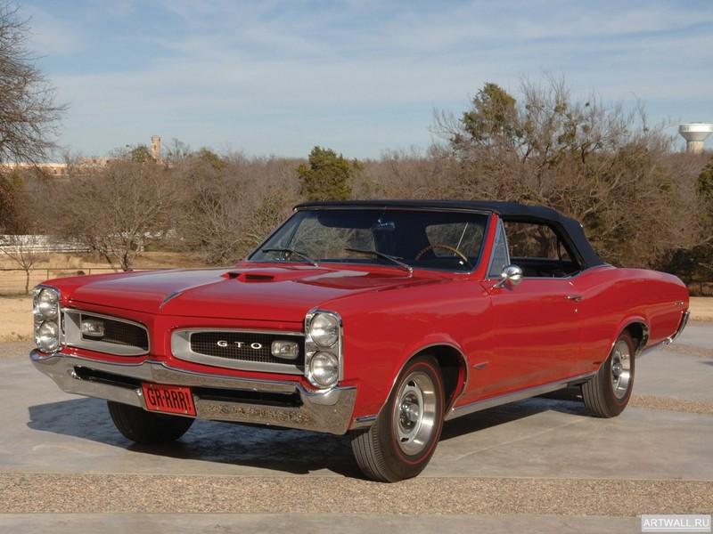 Постер Pontiac Tempest GTO Convertible 1966 Произведено 12798 единиц, 27x20 см, на бумагеPontiac<br>Постер на холсте или бумаге. Любого нужного вам размера. В раме или без. Подвес в комплекте. Трехслойная надежная упаковка. Доставим в любую точку России. Вам осталось только повесить картину на стену!<br>