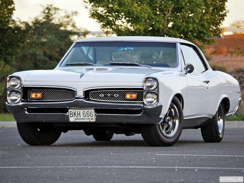 Постер Pontiac Tempest GTO Hardtop Coupe 1967 Произведено 65176 единиц, 27x20 см, на бумагеPontiac<br>Постер на холсте или бумаге. Любого нужного вам размера. В раме или без. Подвес в комплекте. Трехслойная надежная упаковка. Доставим в любую точку России. Вам осталось только повесить картину на стену!<br>
