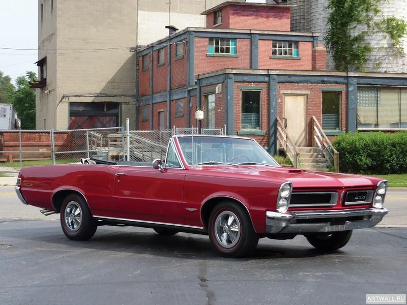 Постер Pontiac Tempest LeMans GTO Convertible 1965 Произведено 11311 единиц, 27x20 см, на бумагеPontiac<br>Постер на холсте или бумаге. Любого нужного вам размера. В раме или без. Подвес в комплекте. Трехслойная надежная упаковка. Доставим в любую точку России. Вам осталось только повесить картину на стену!<br>