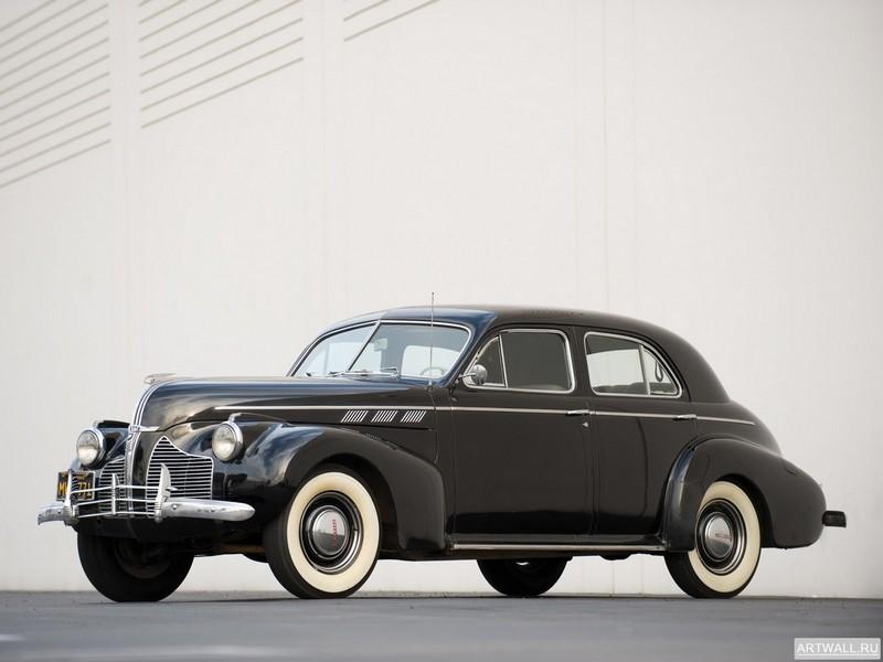Постер Pontiac Torpedo 8 Touring Sedan 1940, 27x20 см, на бумагеPontiac<br>Постер на холсте или бумаге. Любого нужного вам размера. В раме или без. Подвес в комплекте. Трехслойная надежная упаковка. Доставим в любую точку России. Вам осталось только повесить картину на стену!<br>