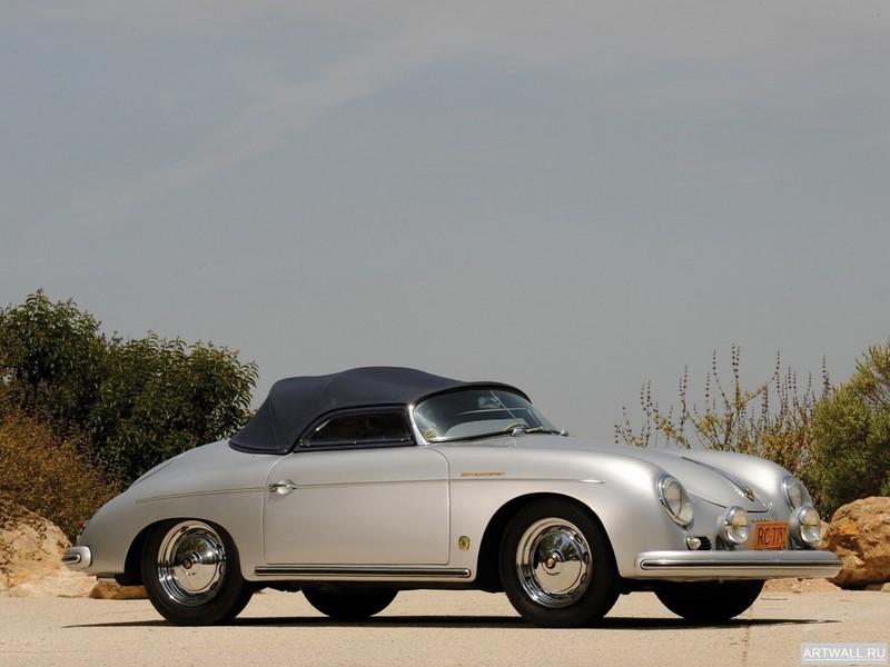 Постер Porsche 356 1600S Speedster 1956-58, 27x20 см, на бумагеPorsche<br>Постер на холсте или бумаге. Любого нужного вам размера. В раме или без. Подвес в комплекте. Трехслойная надежная упаковка. Доставим в любую точку России. Вам осталось только повесить картину на стену!<br>