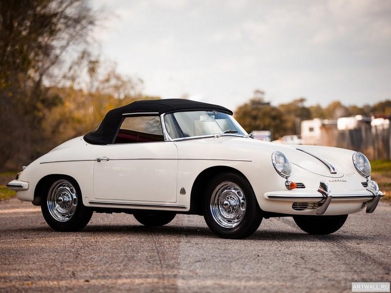 Постер Porsche 356B 1600 T-5 Super 90 Roadster 1960-62, 27x20 см, на бумагеPorsche<br>Постер на холсте или бумаге. Любого нужного вам размера. В раме или без. Подвес в комплекте. Трехслойная надежная упаковка. Доставим в любую точку России. Вам осталось только повесить картину на стену!<br>