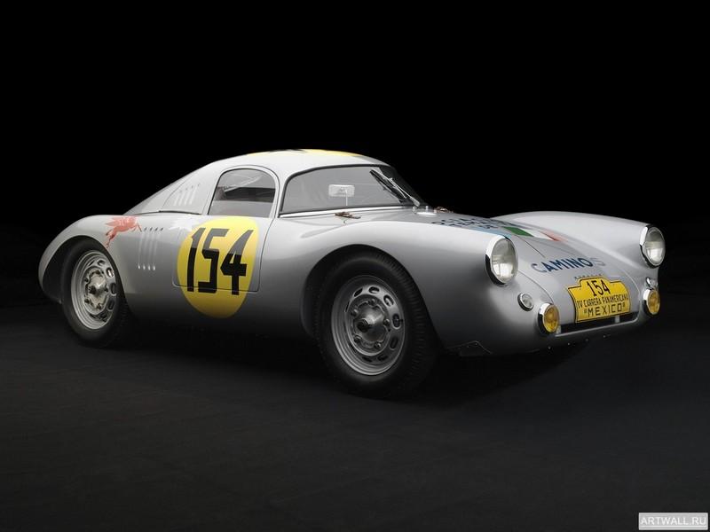 Постер Porsche 550 Coupe Carrera Panamericana 1953, 27x20 см, на бумагеPorsche<br>Постер на холсте или бумаге. Любого нужного вам размера. В раме или без. Подвес в комплекте. Трехслойная надежная упаковка. Доставим в любую точку России. Вам осталось только повесить картину на стену!<br>