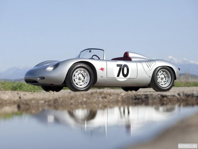 Постер Porsche 718 RS61 Spyder 1961, 27x20 см, на бумагеPorsche<br>Постер на холсте или бумаге. Любого нужного вам размера. В раме или без. Подвес в комплекте. Трехслойная надежная упаковка. Доставим в любую точку России. Вам осталось только повесить картину на стену!<br>