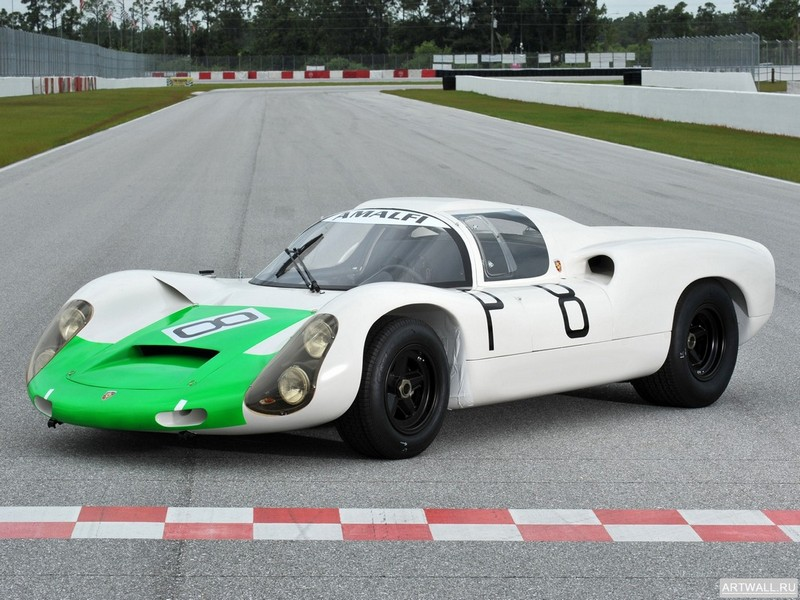 Постер Porsche 910-8 1967-68, 27x20 см, на бумагеPorsche<br>Постер на холсте или бумаге. Любого нужного вам размера. В раме или без. Подвес в комплекте. Трехслойная надежная упаковка. Доставим в любую точку России. Вам осталось только повесить картину на стену!<br>