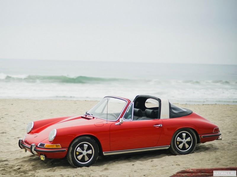 Постер Porsche 911 S 2.0 Targa (901) 1967, 27x20 см, на бумагеPorsche<br>Постер на холсте или бумаге. Любого нужного вам размера. В раме или без. Подвес в комплекте. Трехслойная надежная упаковка. Доставим в любую точку России. Вам осталось только повесить картину на стену!<br>