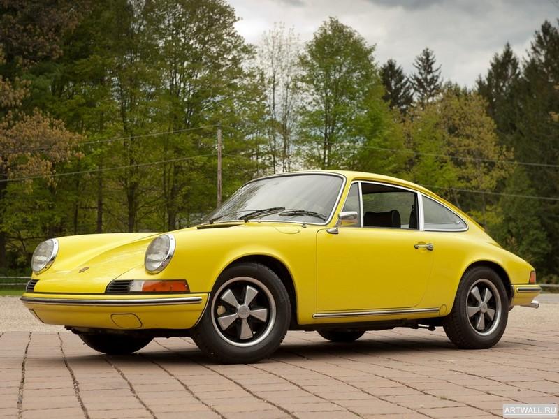 Постер Porsche 911 T 2.4 Coupe (901) 1972-73, 27x20 см, на бумагеPorsche<br>Постер на холсте или бумаге. Любого нужного вам размера. В раме или без. Подвес в комплекте. Трехслойная надежная упаковка. Доставим в любую точку России. Вам осталось только повесить картину на стену!<br>