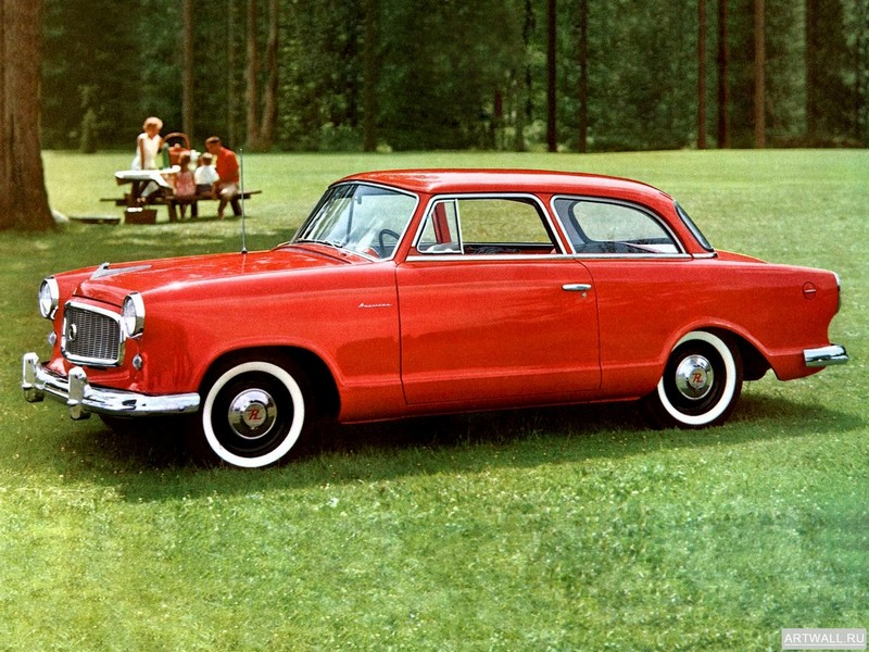 Постер Rambler American Super Club Sedan (5906-1) 1959, 27x20 см, на бумагеРазные марки<br>Постер на холсте или бумаге. Любого нужного вам размера. В раме или без. Подвес в комплекте. Трехслойная надежная упаковка. Доставим в любую точку России. Вам осталось только повесить картину на стену!<br>