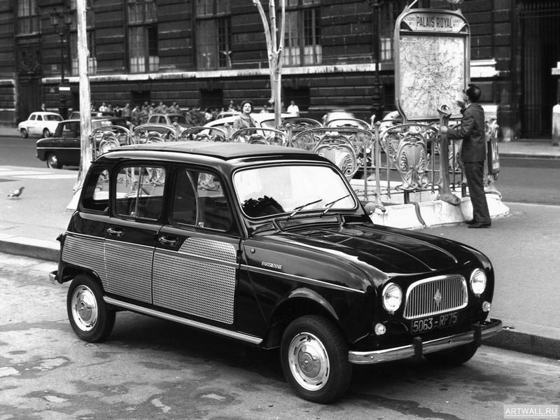 Постер Renault 4 Fourgonnette 1974-85, 27x20 см, на бумагеRenault<br>Постер на холсте или бумаге. Любого нужного вам размера. В раме или без. Подвес в комплекте. Трехслойная надежная упаковка. Доставим в любую точку России. Вам осталось только повесить картину на стену!<br>