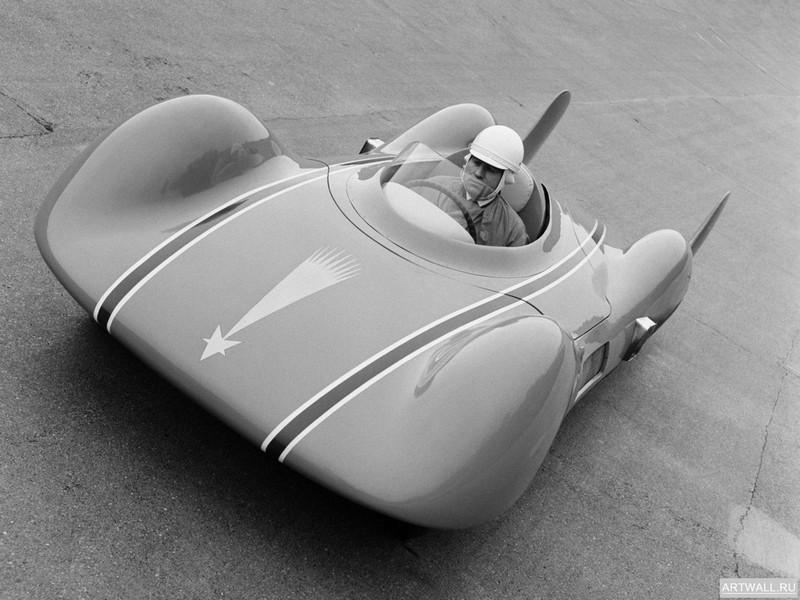 Постер Renault Etoile Filante 1956, 27x20 см, на бумагеRenault<br>Постер на холсте или бумаге. Любого нужного вам размера. В раме или без. Подвес в комплекте. Трехслойная надежная упаковка. Доставим в любую точку России. Вам осталось только повесить картину на стену!<br>