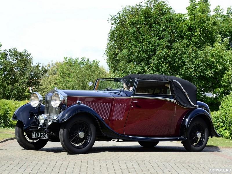Постер Rolls-Royce 20 25 Drophead Coupe by Thrupp &amp; Maberly 1934, 27x20 см, на бумагеRolls-Royce<br>Постер на холсте или бумаге. Любого нужного вам размера. В раме или без. Подвес в комплекте. Трехслойная надежная упаковка. Доставим в любую точку России. Вам осталось только повесить картину на стену!<br>