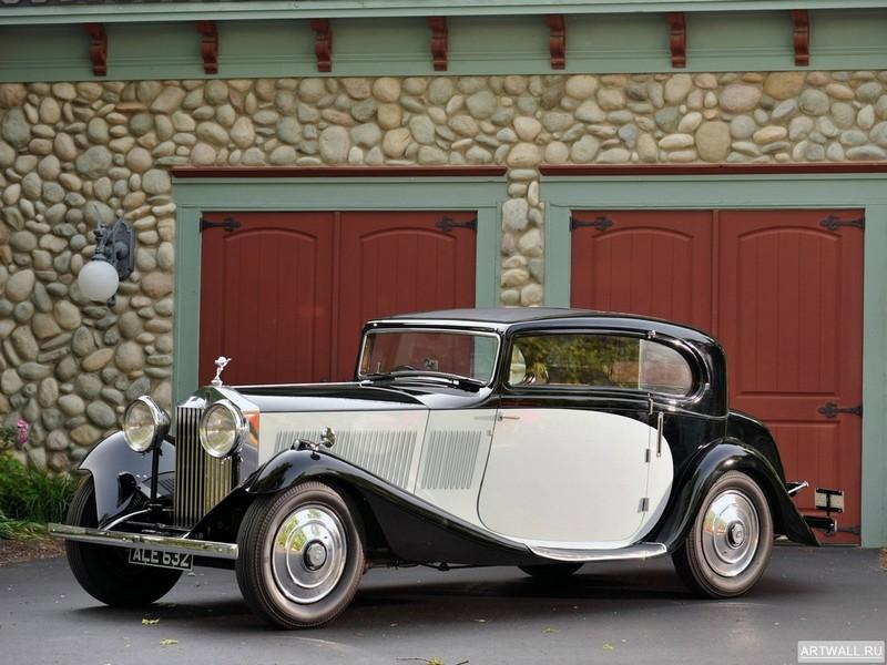 Постер Rolls-Royce 20 25 Sports Coupe by J. Gurney Nutting &amp; Co. Ltd. 1933, 27x20 см, на бумагеRolls-Royce<br>Постер на холсте или бумаге. Любого нужного вам размера. В раме или без. Подвес в комплекте. Трехслойная надежная упаковка. Доставим в любую точку России. Вам осталось только повесить картину на стену!<br>