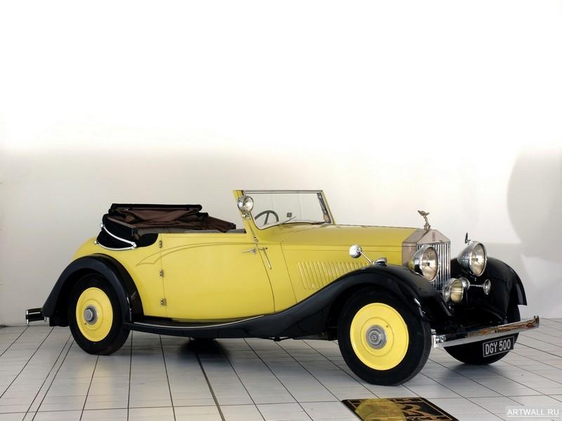 Постер Rolls-Royce 20 Drophead Coupе 1926, 27x20 см, на бумагеRolls-Royce<br>Постер на холсте или бумаге. Любого нужного вам размера. В раме или без. Подвес в комплекте. Трехслойная надежная упаковка. Доставим в любую точку России. Вам осталось только повесить картину на стену!<br>