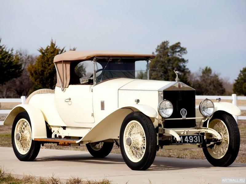 Rolls-Royce 20 Two Seater by W.Watson &amp; Co. 1923, 27x20 см, на бумагеRolls-Royce<br>Постер на холсте или бумаге. Любого нужного вам размера. В раме или без. Подвес в комплекте. Трехслойная надежная упаковка. Доставим в любую точку России. Вам осталось только повесить картину на стену!<br>
