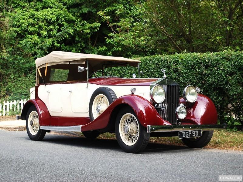 Rolls-Royce 25 30 HP Tourer 1936, 27x20 см, на бумагеRolls-Royce<br>Постер на холсте или бумаге. Любого нужного вам размера. В раме или без. Подвес в комплекте. Трехслойная надежная упаковка. Доставим в любую точку России. Вам осталось только повесить картину на стену!<br>