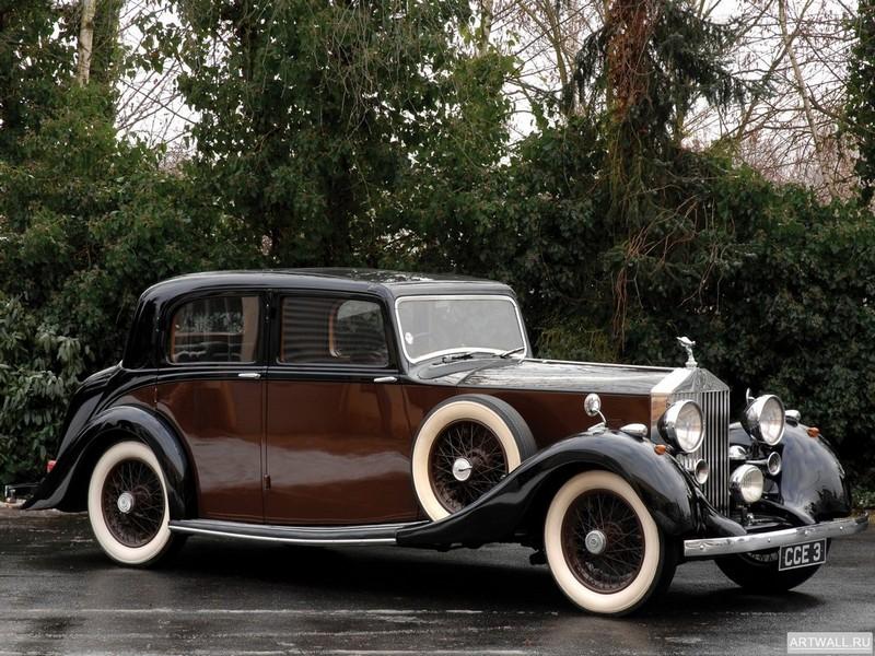 Постер Rolls-Royce 25 30 Sport Saloon 1938, 27x20 см, на бумагеRolls-Royce<br>Постер на холсте или бумаге. Любого нужного вам размера. В раме или без. Подвес в комплекте. Трехслойная надежная упаковка. Доставим в любую точку России. Вам осталось только повесить картину на стену!<br>