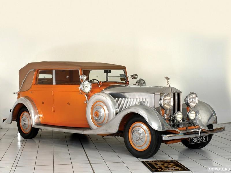 Rolls-Royce Phantom 40 50 Cabriolet Star of India (II) 1934, 27x20 см, на бумагеRolls-Royce<br>Постер на холсте или бумаге. Любого нужного вам размера. В раме или без. Подвес в комплекте. Трехслойная надежная упаковка. Доставим в любую точку России. Вам осталось только повесить картину на стену!<br>
