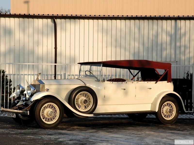 Постер Rolls-Royce Phantom 40 50 Open Tourer (II) 1929, 27x20 см, на бумагеRolls-Royce<br>Постер на холсте или бумаге. Любого нужного вам размера. В раме или без. Подвес в комплекте. Трехслойная надежная упаковка. Доставим в любую точку России. Вам осталось только повесить картину на стену!<br>